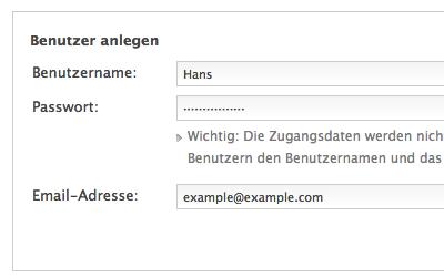 User-Verwaltung